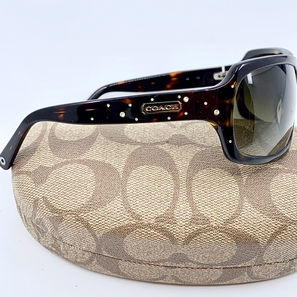 073eac7ee031 Coach Accessories | Samantha 5425 Tortoise Green Sunglasses | Poshmark